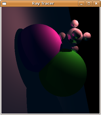 Ray Tracer Second Screen Shot